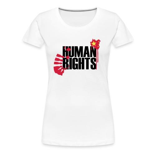 human rights 3c - Frauen Premium T-Shirt