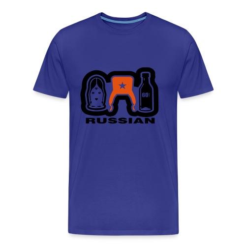 Russian Blue T - Men's Premium T-Shirt