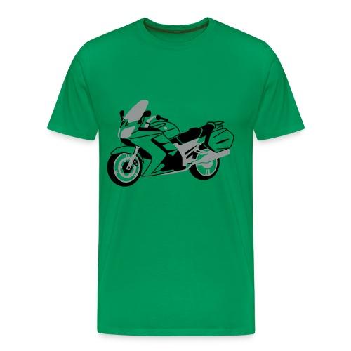 FJR1300 (Green) - Men's Premium T-Shirt