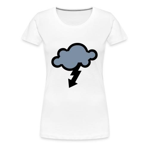 Womens lightening top! - Women's Premium T-Shirt