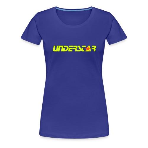 UNDERSTAR Blue T-shirt - Women's Premium T-Shirt