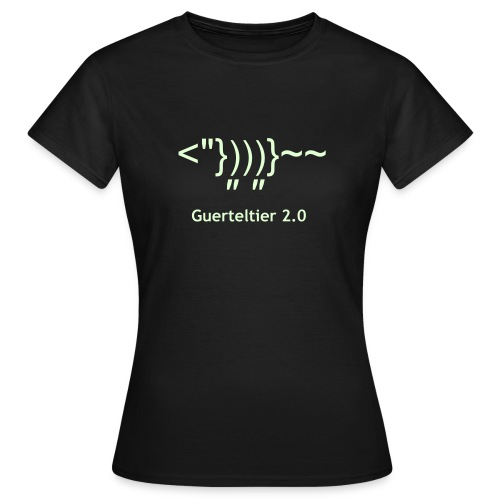Guerteltier 2.0 - Frauen T-Shirt