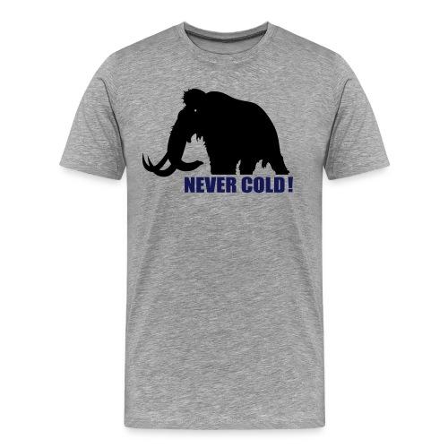 Camiseta NEveR cOlD - Camiseta premium hombre