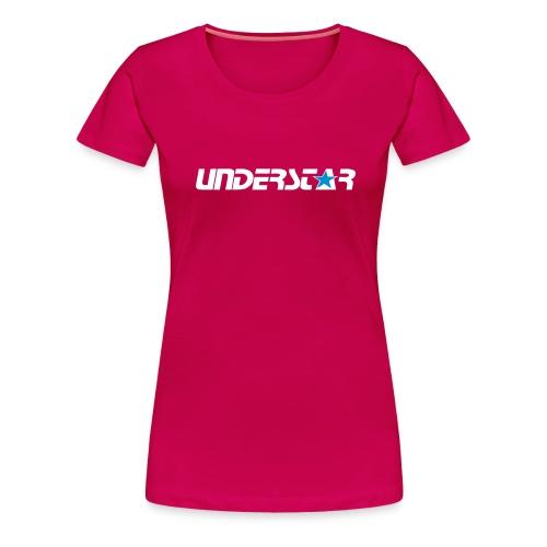 UNDERSTAR Pink T-shirt - Women's Premium T-Shirt