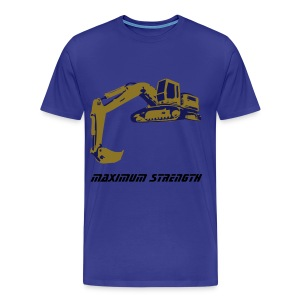 Strength blue t-shirt - Men's Premium T-Shirt