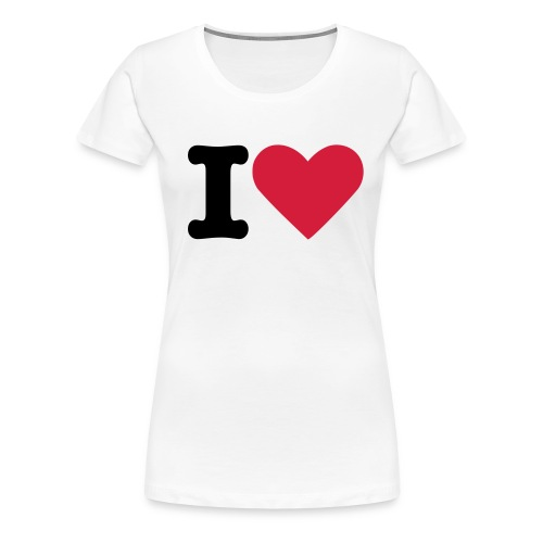 I Heart ? - Wilson's Merch - Women's Premium T-Shirt
