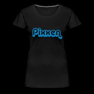 T-Shirts ~ Frauen Premium T-Shirt ~ Girlie-Shirt, schwarz