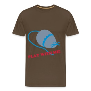 play with me. - Mannen Premium T-shirt