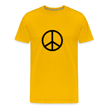 Yellow peace T-Shirts