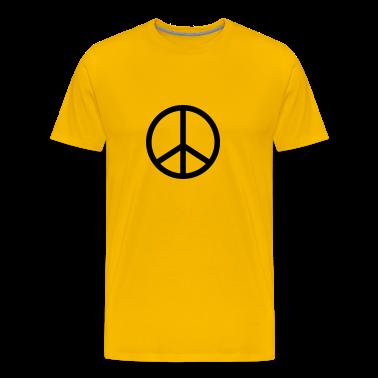 Yellow peace T-Shirts