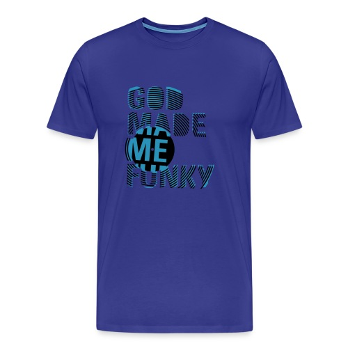 God made me - Mannen Premium T-shirt