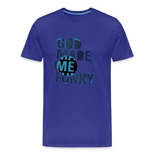 God made me - Mannen Premium T-shirt