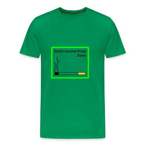 Nichtraucherfreie Zone - Männer Premium T-Shirt