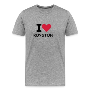 Loving Royston Town - Men's Premium T-Shirt