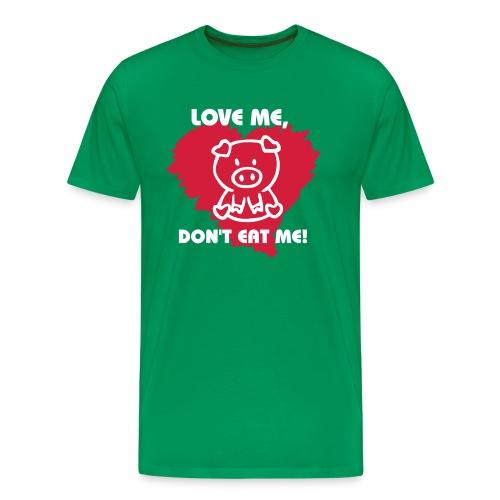 Love Me - Mannen Premium T-shirt