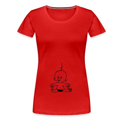 Gravid - Premium-T-shirt dam