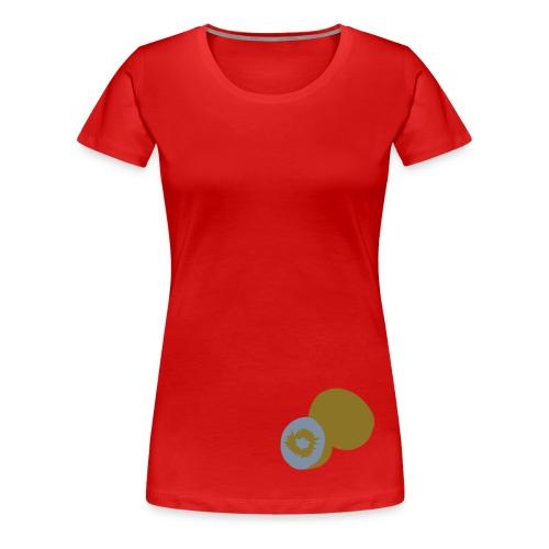 KiwiFruit - Womens (14 Colours) - Women's Premium T-Shirt