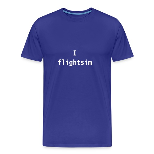 I flightsim - Men's Premium T-Shirt