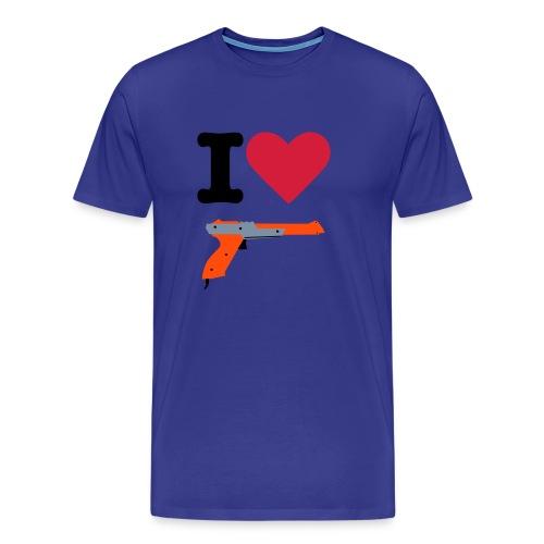 I Love NES - Men's Premium T-Shirt