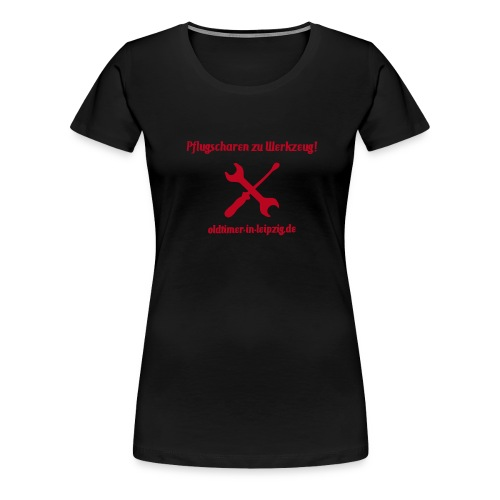 Flockdruck - Frauen Premium T-Shirt
