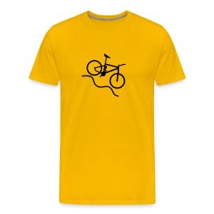 Large Logo - Men's Premium T-Shirt