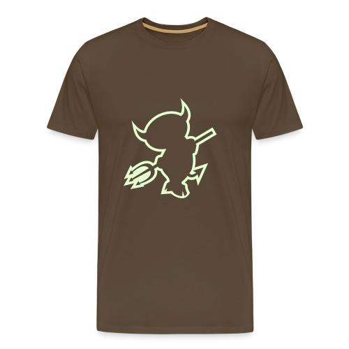 devil - Premium-T-shirt herr