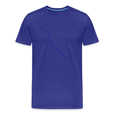 Sky Thames river course map T-Shirts