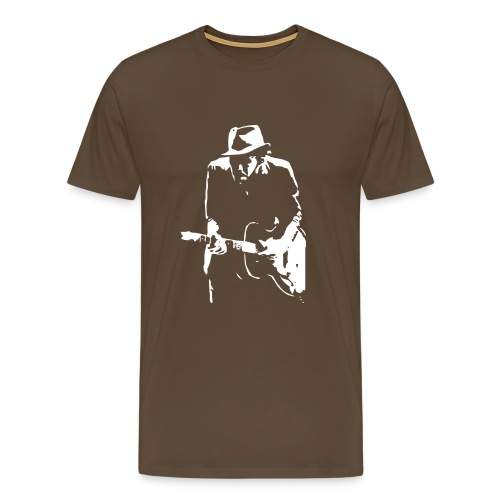 waits:.kolorit braun - Männer Premium T-Shirt