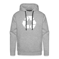 Sweaters ~ Mannen Premium hoodie ~ Recycle dicht