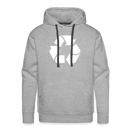 Recycle dicht - Mannen Premium hoodie