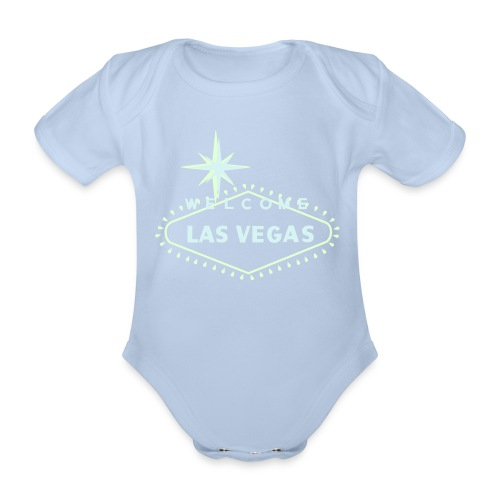 LAS VEGAS BODY - Organic Short-sleeved Baby Bodysuit