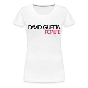 David Guetta Pop Life Femme - T-shirt Premium Femme