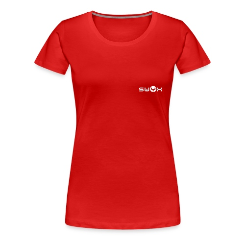 Basic Damen Rot - Frauen Premium T-Shirt