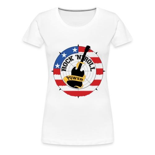 WHITE  GIRLIE - Women's Premium T-Shirt