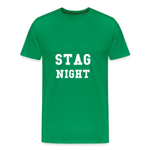 STAG NIGHT T Shirt - Men's Premium T-Shirt