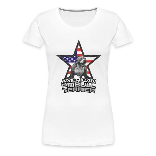 american pitbull terrier - Maglietta Premium da donna