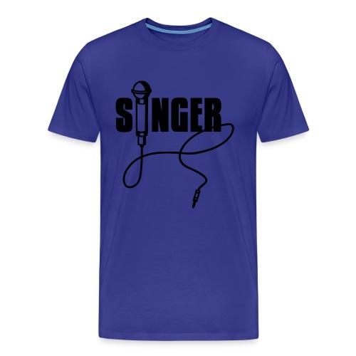 Mens Singer Tee - Men's Premium T-Shirt