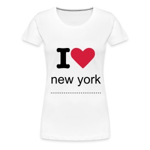 i love n y - Women's Premium T-Shirt