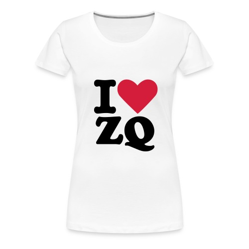I Love ZQ - Women's Premium T-Shirt