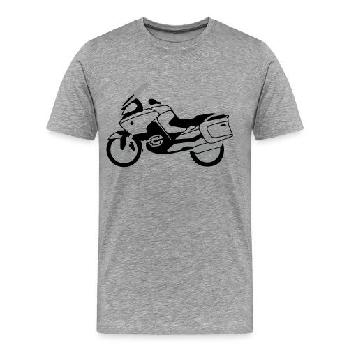 R1200RT Black Lowers (Ash Grey) - Men's Premium T-Shirt