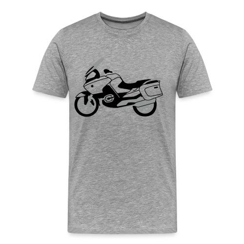 R1200RT Black Lowers (Ash Grey) - Men's Premium T-Shirt