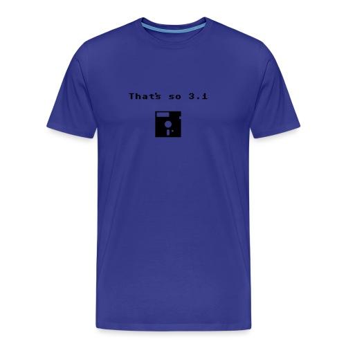 That's so 3.1 - Men's Premium T-Shirt