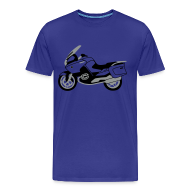 T-Shirts ~ Men's Premium T-Shirt ~ R1200RT Black Lowers (Royal Blue)