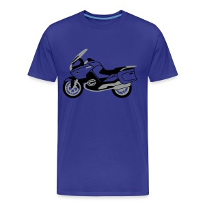 R1200RT Black Lowers (Royal Blue) - Men's Premium T-Shirt