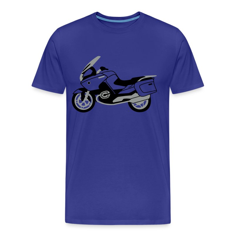 R1200RT Black Lowers (Royal Blue) - Men's Premium T-Shirt