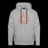 Sweaters ~ Mannen Premium hoodie ~ Recycle open