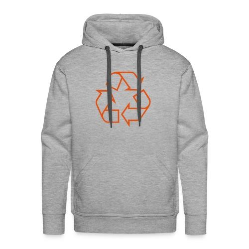 Recycle open - Mannen Premium hoodie