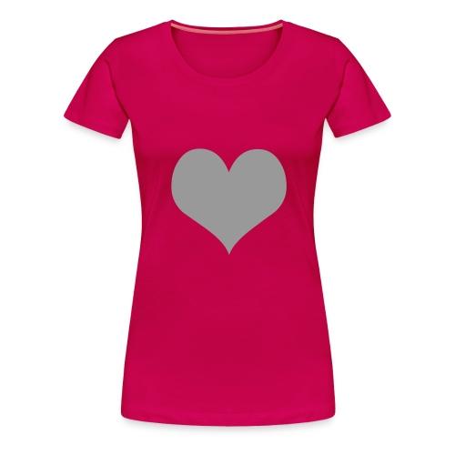 Girlie rosa MIT Armdruck - Frauen Premium T-Shirt