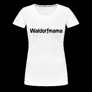 Waldorfmama - Frauen Premium T-Shirt