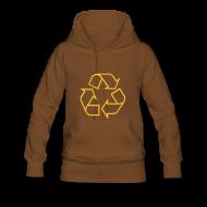 Sweaters ~ Vrouwen Premium hoodie ~ Recycle open